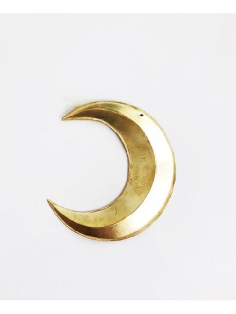 Lune en relief