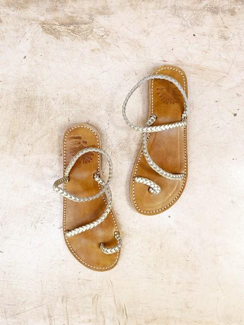 Sandale ROMANE Dorée
