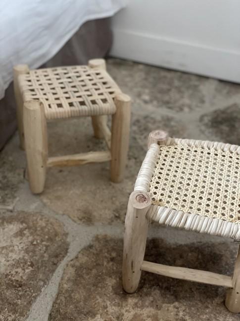 Mini Tabouret Cannelé