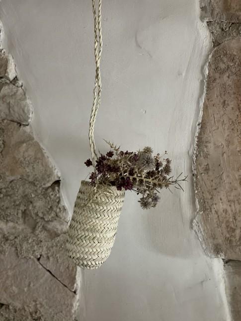 Petit Vase à suspendre