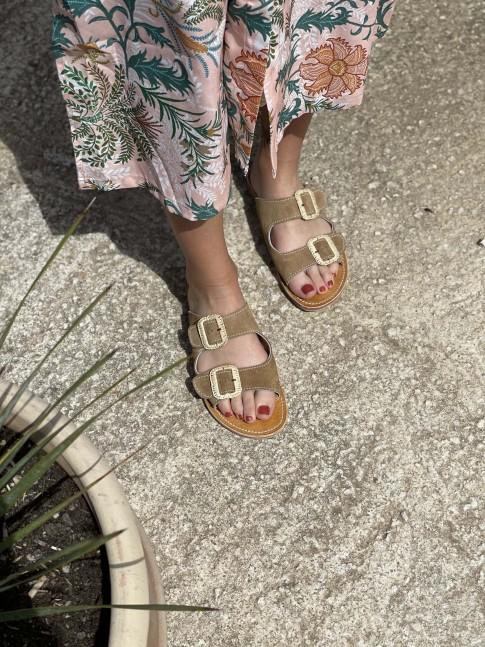 Sandale KAMYL Ocre
