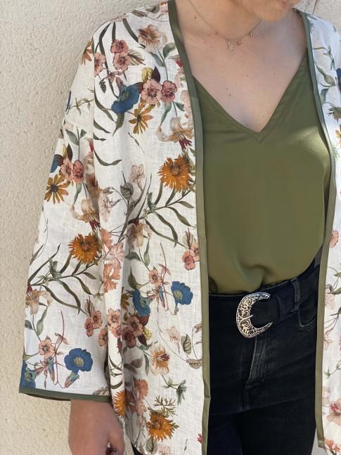 Kimono Kenza Fleurs