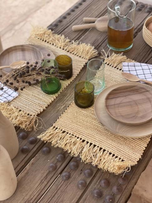 Set de Table avec Franges